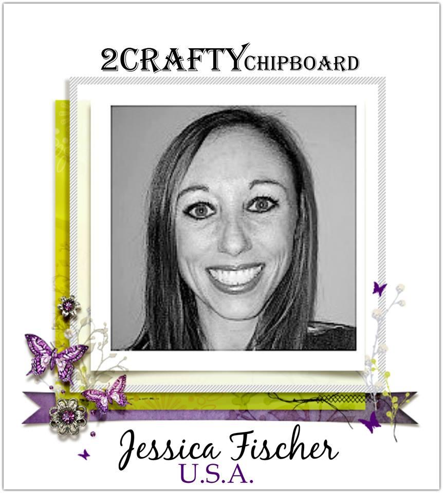 2019 Design Team Member for 2Crafty Chipboard