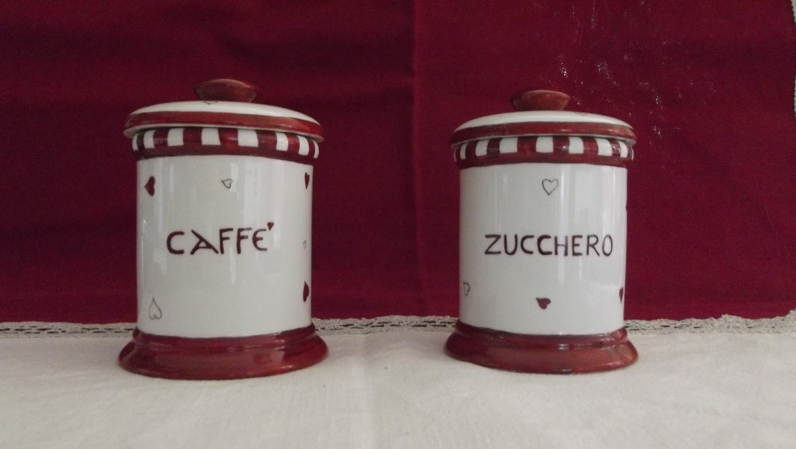 Pittura su ceramica di roberta zanin oggettistica per cucina for Oggettistica cucina online