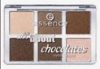 Paleta all about chocolates Essence