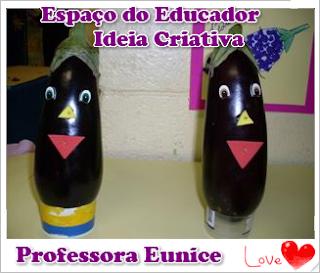 Legumes e Frutas Decorados Espaço do Educador Ideia Criativa