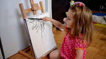lukisan indah, lukisan menakjubkan, lukisan, lukisan anak kecil, inspirasi, lukisan balita