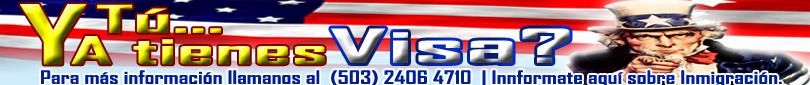 Trámites  Visa - USA,  El Salvador.