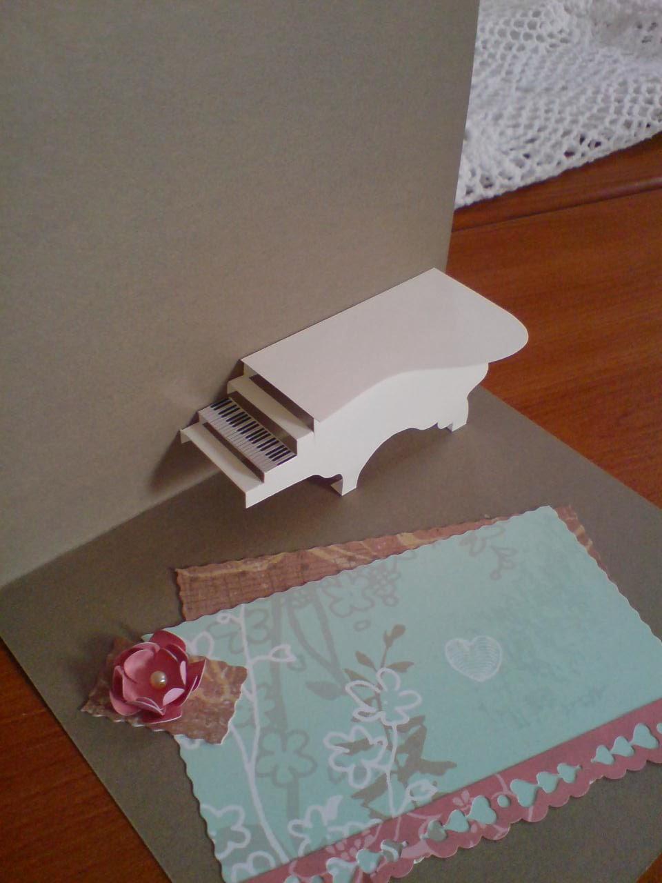 basteln und gestalten blog retro geburtstagskarte mit pop. Black Bedroom Furniture Sets. Home Design Ideas