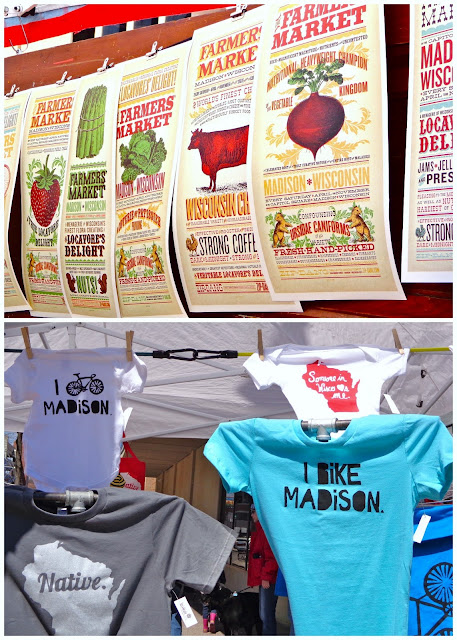 Madison farmer's market