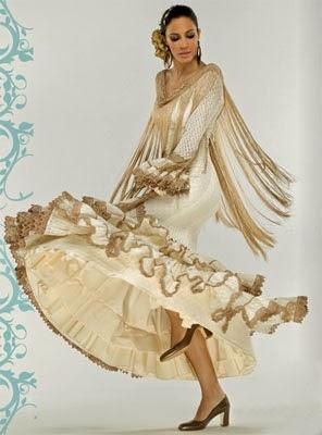 moda flamenca El Corte Inglés catálogo 2014 trajes y complementos
