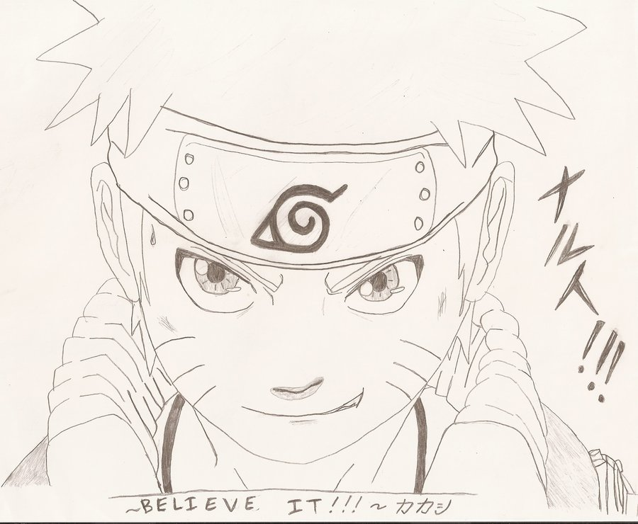 Naruto Drawing Pictures