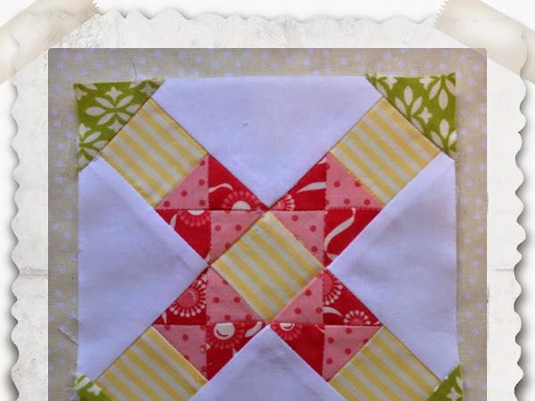 Chatelaine- Free BOW Sampler Quilt Block 4
