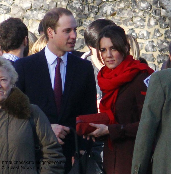 Duchess Kate: William and Kate Attend Christmas Day Service in ...