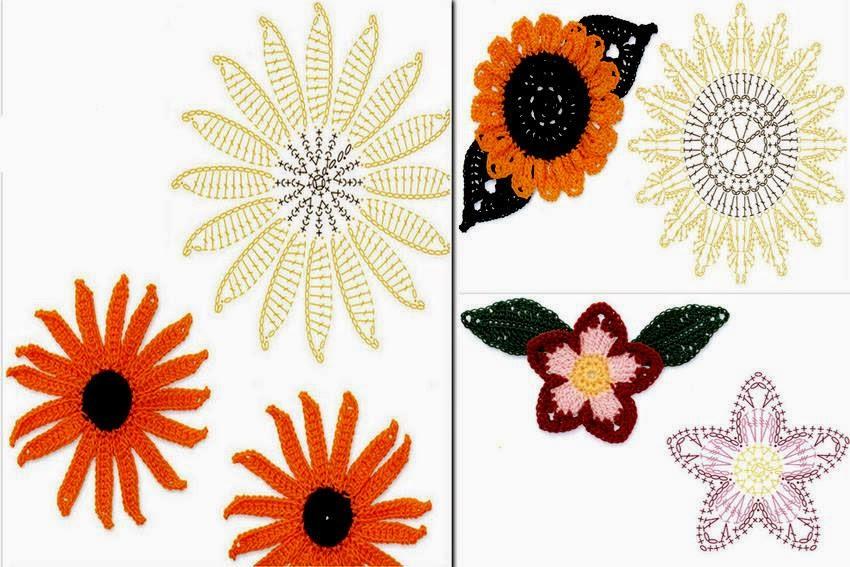 Con le foglie o senza, questi girasoli e laltro fiore, sono ...