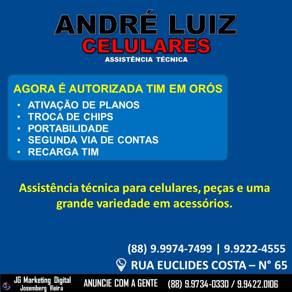 ANDRÉ LUIZ CELULARES