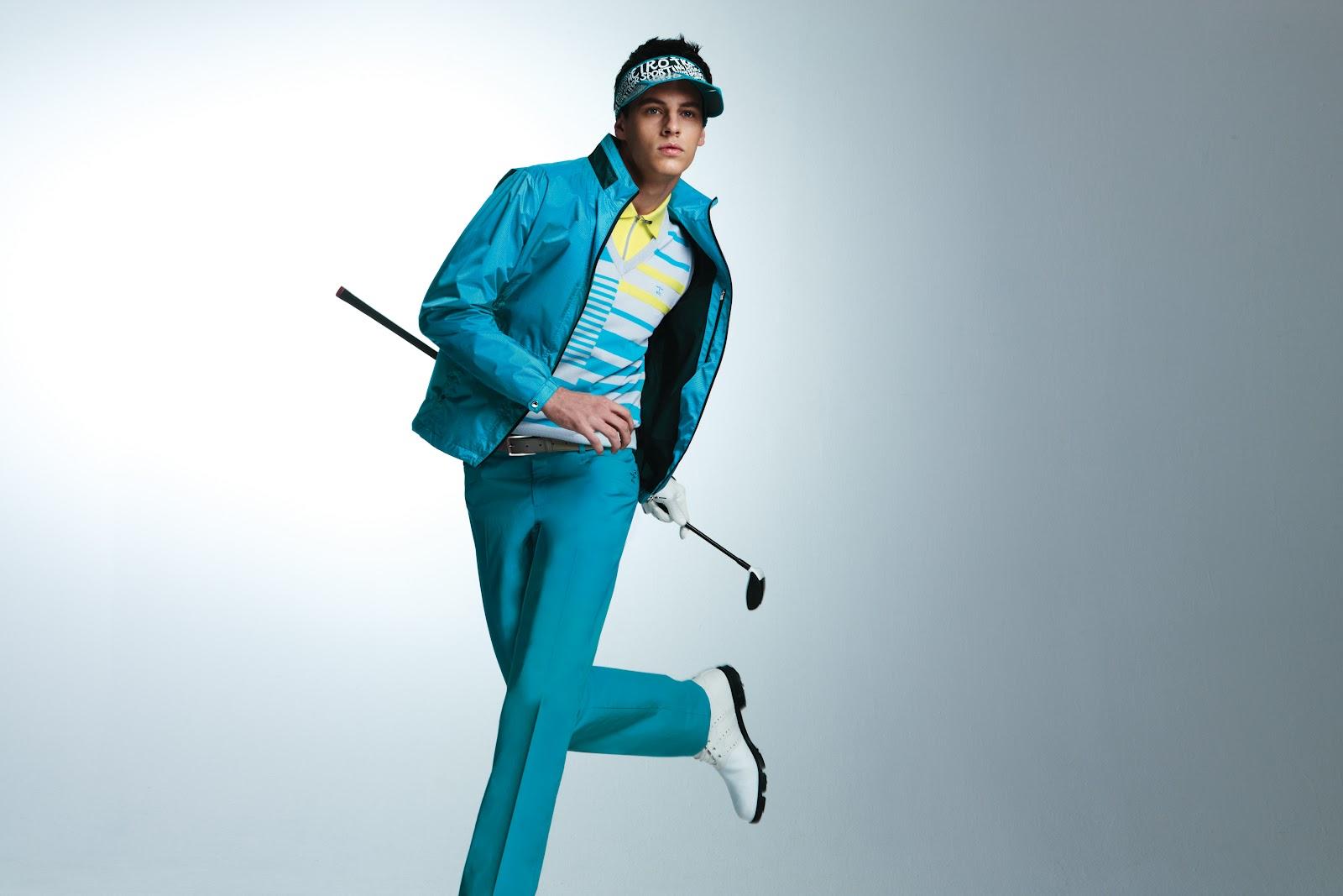 golf wear: