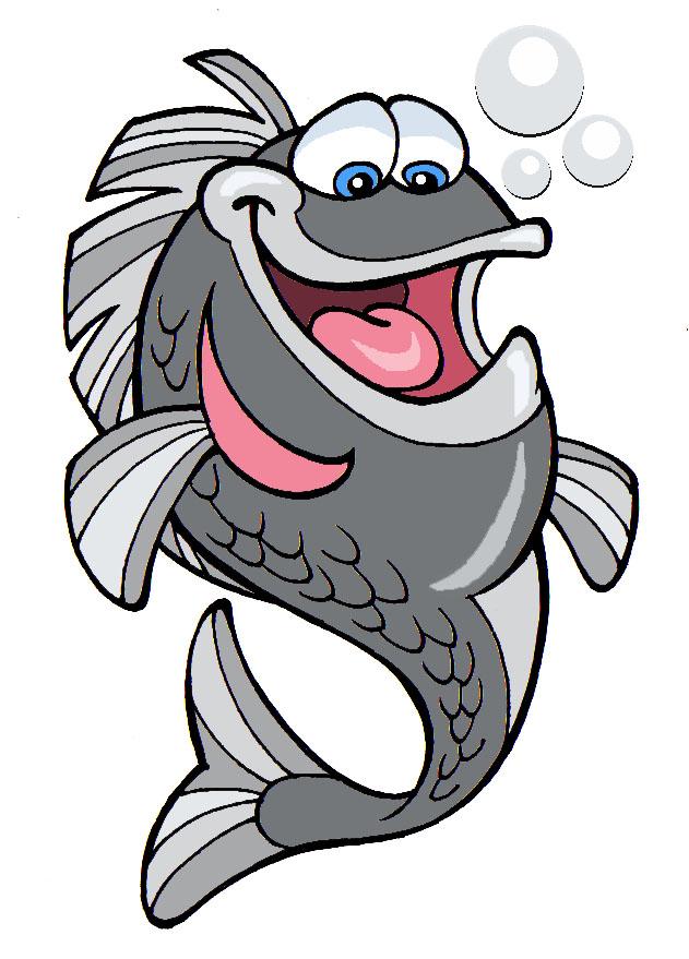 Riktoonz cartoonist caricaturist rick c moore fish for Clip art fish
