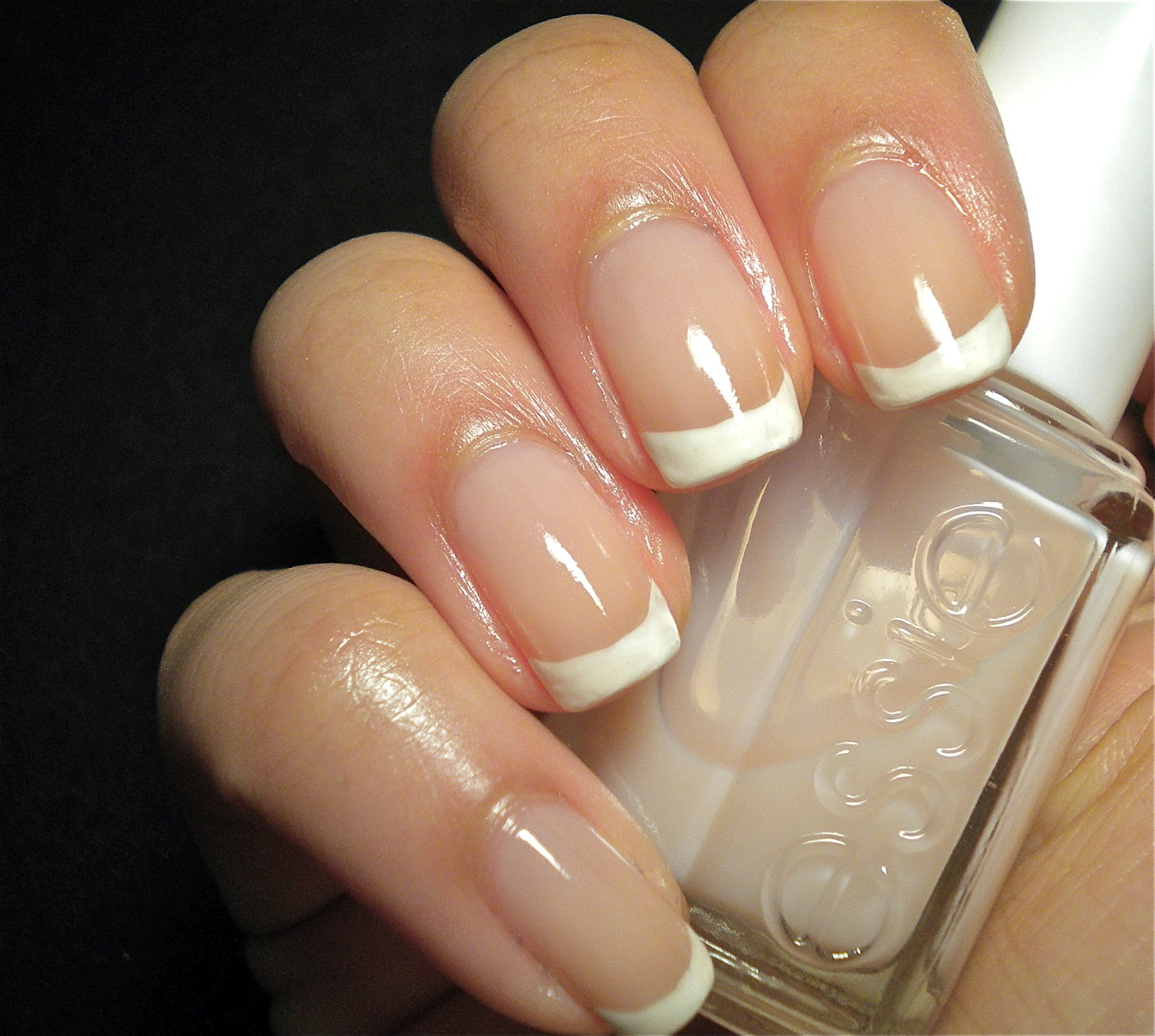 Something Polished: Simple French Manicure