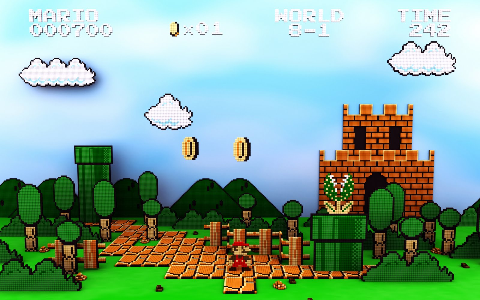 Super Mario HD & Widescreen Wallpaper 0.483006924953816