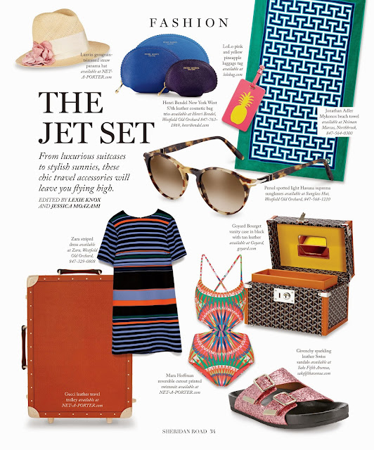 Sheridan Road Magazine, The Jet Set, From luxurious suitcases to stylish sunnies, these chic travel accessories will leave you flying high by Jessica Moazami