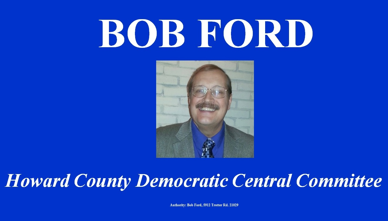 Vote Bob Ford for HCDCC on June 26