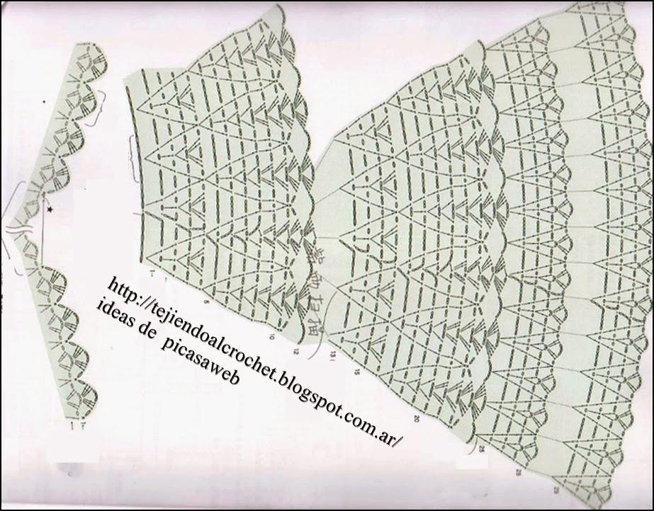 TEJIDOS A CROCHET - GANCHILLO - PATRONES: 1/03/15 - 1/04/15