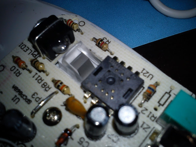 LEXMA M710 雷馬藍光滑鼠-【拆解圖】