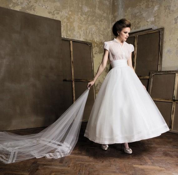 Pronuptia Wedding Dress 29 Cool Below Mondrian refined elegance