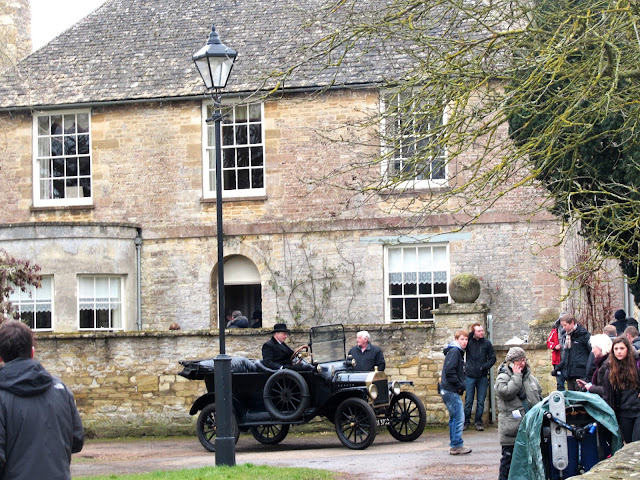 Mrs Crawley's house from Downton Abbey in the village of Bampton Oxfordshire