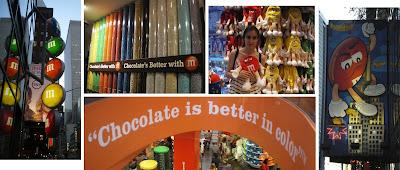 Tienda de chocolates en Nueva York