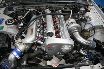 Spool Imports Skyline RB34DET Engine