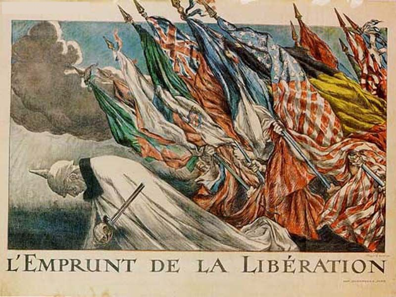 HISTORY IN IMAGES: Pic... World War 1 French Propaganda