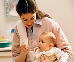 Tableau alimentation bébé  avec  céréales