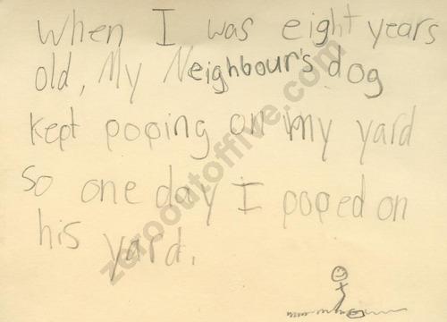 Essay on my neighbours dog