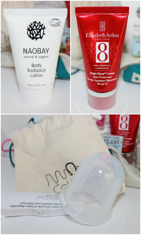 Naobay, Elizabeth Arden y Cellu Cup