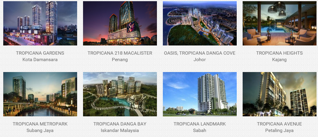 Tropicana - Past Projects