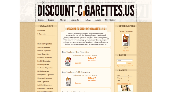 discount cigarettes coupons