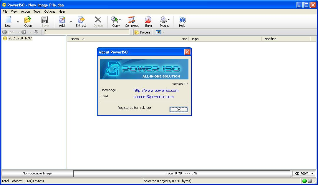 how to open mdx file with poweriso