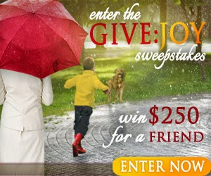 Sweepstakes Give Joy