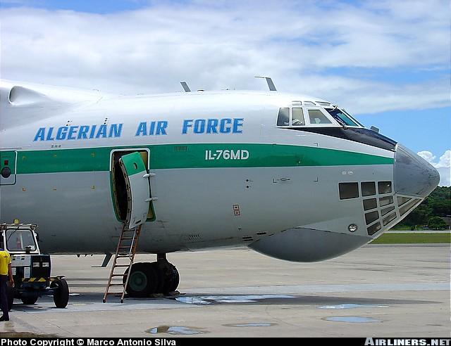 Fuerzas Armadas de Argelia IL76MD_3