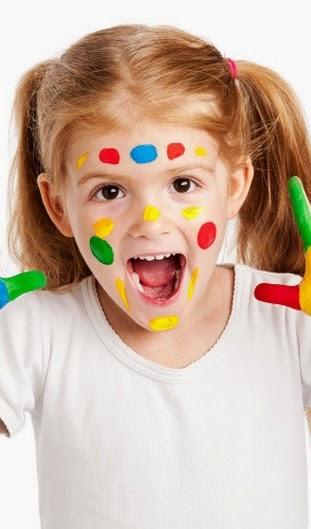 Pintar la cara para halloween disfraces caseros y - Pinturas de cara para ninos ...