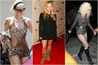 fotos de modelos de Vestidos de Onça