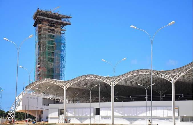 Centro de Convenções de João Pessoa, localizado no Polo Turístico Cabo Branco
