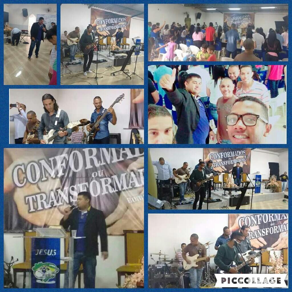 Congresso de Jovens(carnaval) na Assembleia de Deus 09/fev16.