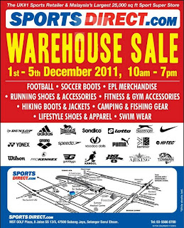 Sports Direct Warehouse Sales