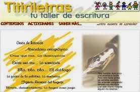 Titiriletras: taller de escritura