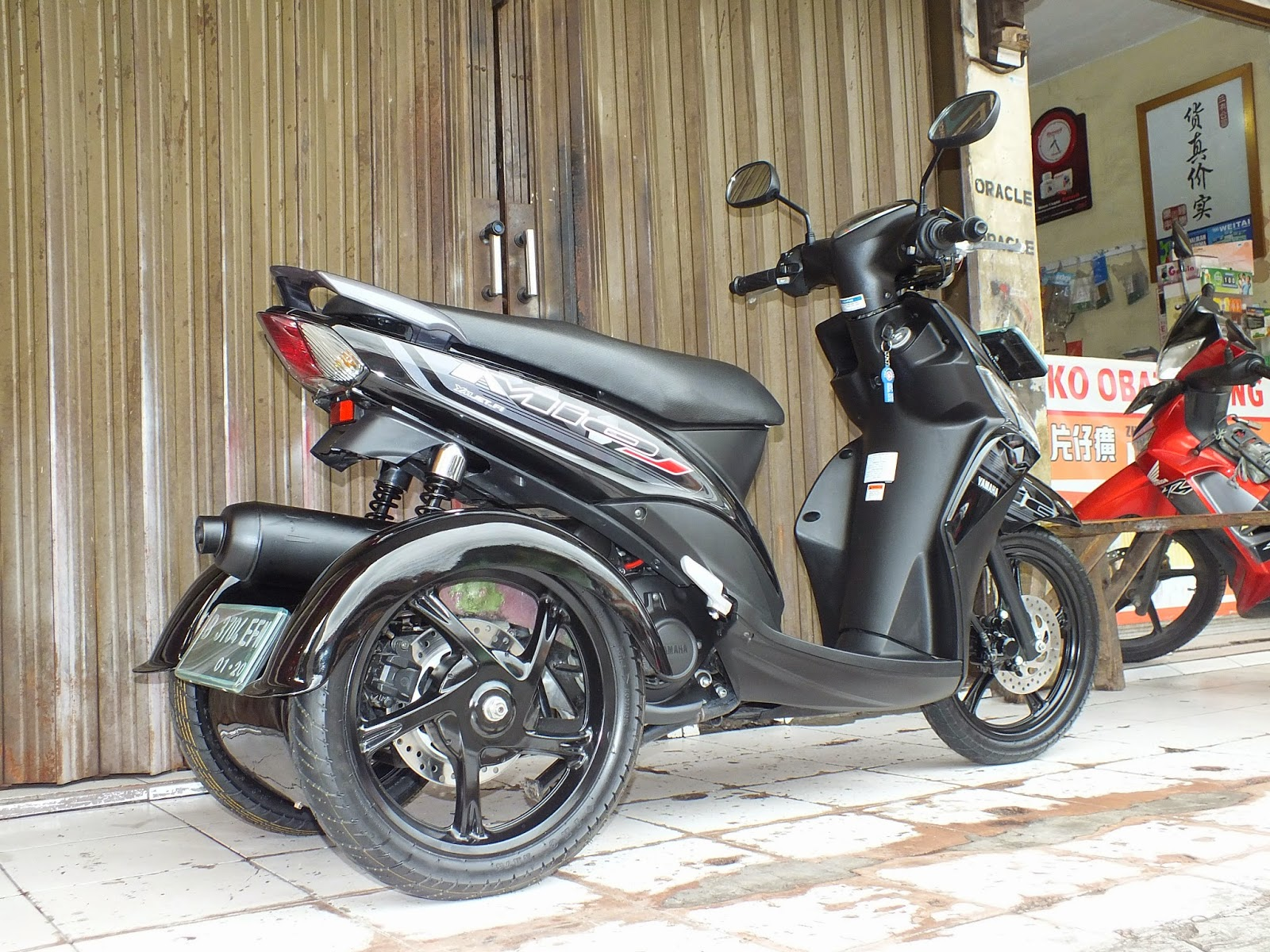 Koleksi Modifikasi Motor Matic Di Indonesia Terlengkap Pojok