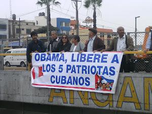 IMAGENES DE ACCIONES POR LA SOLIDARIDAD CON CUBA