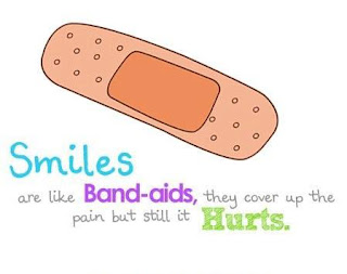 smile quotes comparison with band aids