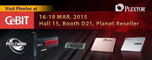 Plextor at CeBIT 2015