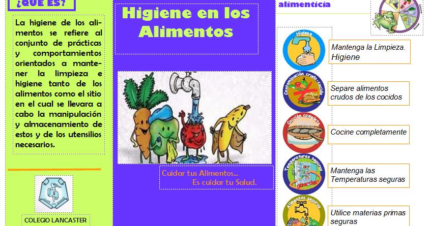 D todo un poco higiene y manipulacion de los alimentos for Higiene y manipulacion de alimentos pdf