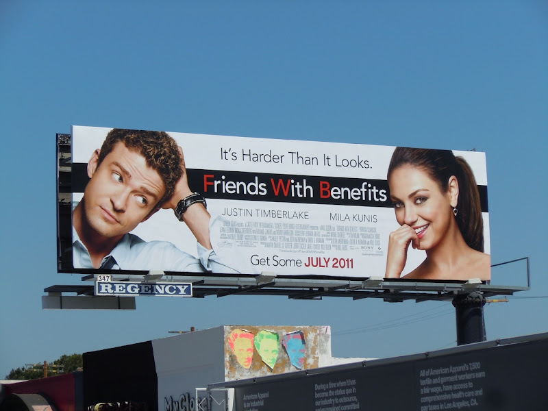 Friends with Benefits billboard