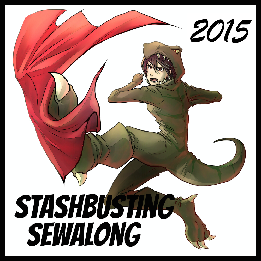 Stashbusting sewalong 2015