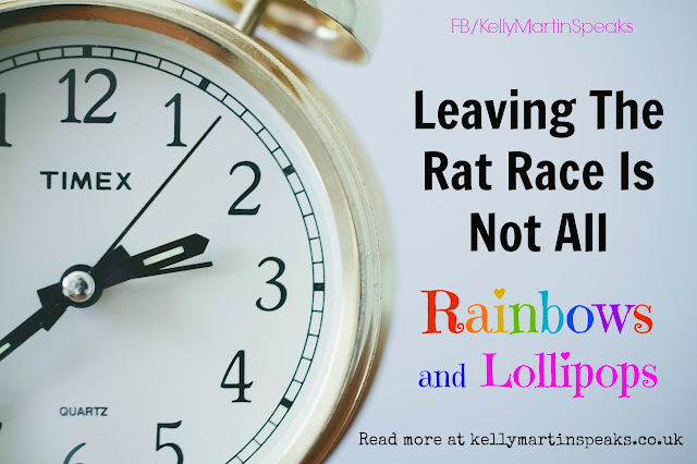 Leaving The Rat Race Takes Courage