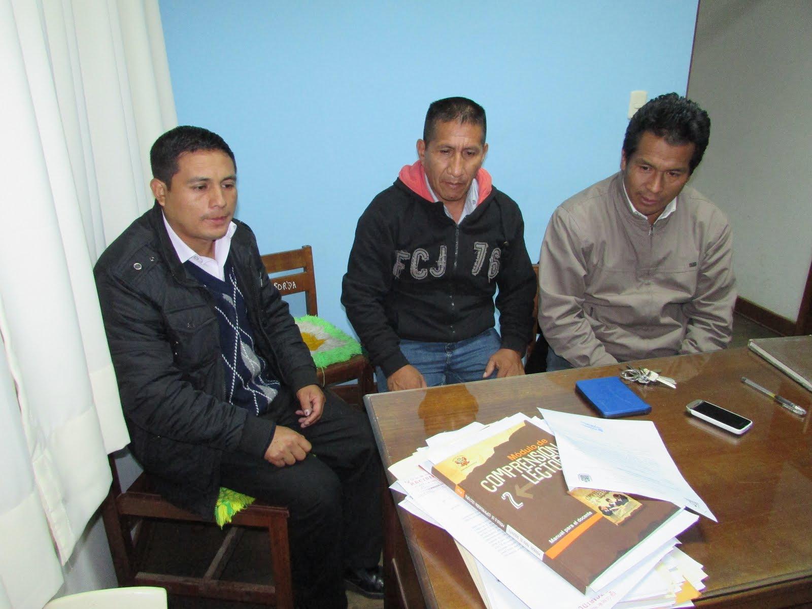 "visita a la IE ""Huayna Capac"" de Huacrachuco"